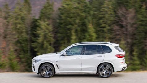Test drive – BMW X5 M50d