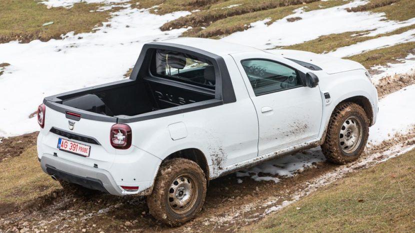 Test drive - noua Dacia Duster pick-up