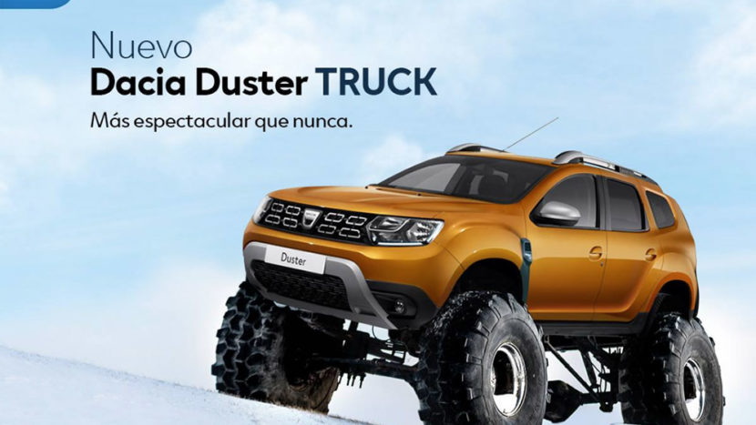 Dacia Duster Truck - surpriza anului?