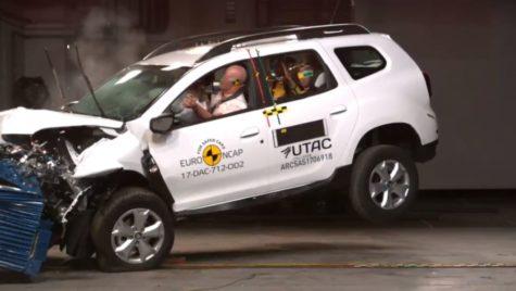 Cum a ajuns Dacia Duster cel mai căutat model pe site-ul EuroNCAP?