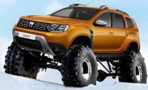 Dacia Duster Truck