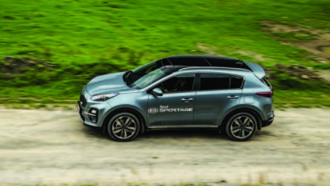 Test drive – Kia Sportage facelift 1.6 T-GDI 7DCT 4×4