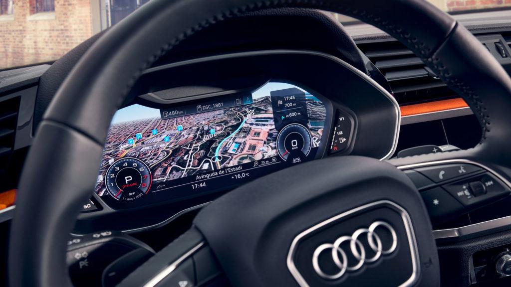 Noul Audi Q3 interior