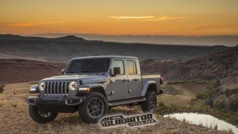 Jeep a reînviat numele Gladiator