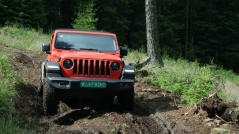 Test drive –  Jeep Wrangler
