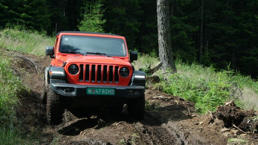 Test drive - Jeep Wrangler