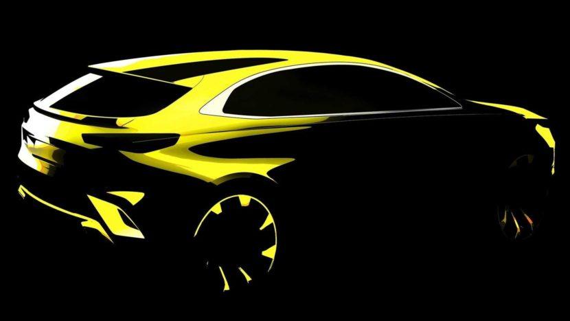Kia xCeed - noul SUV sud-coreean apare în prima imagine teaser