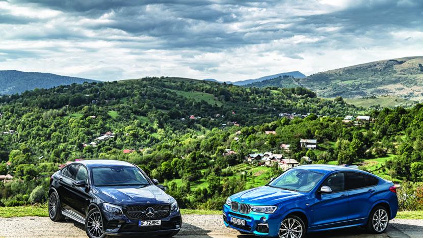 Test comparativ: BMW X4 M40i vs Mercedes-AMG GLC 43