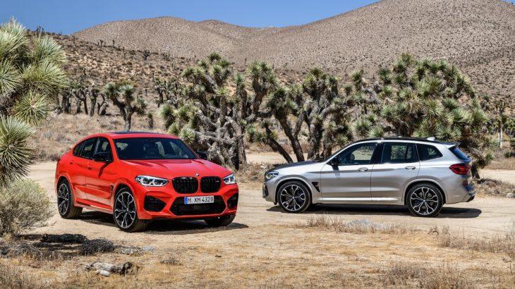 BMW X3 M și BMW X4 M – Informații și fotografii oficiale