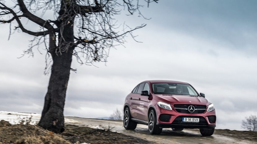Test drive Mercedes-Benz GLE 350 d 4MATIC Coupé (6)