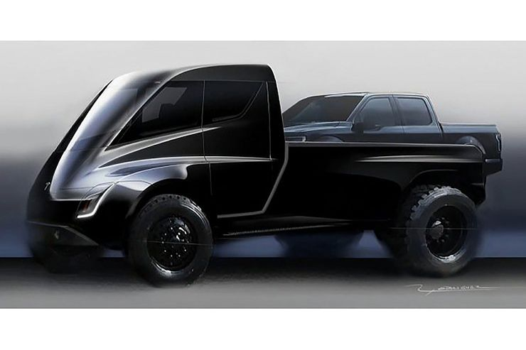 pick-up Tesla