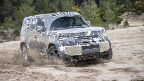 Când va fi gata noul Land Rover Defender?