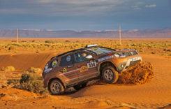 Dacia Duster a ajuns în deșertul Sahara
