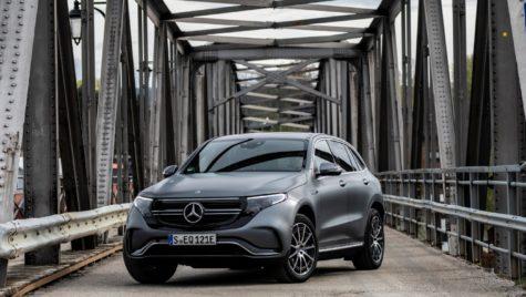 Noul Mercedes-Benz EQC a ajuns în România. Cât costă?