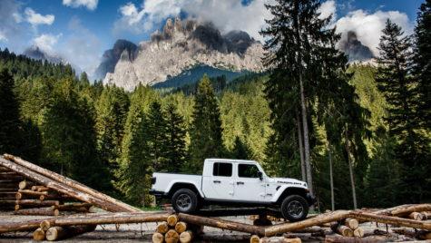 Noul Jeep Gladiator a ajuns în Europa!